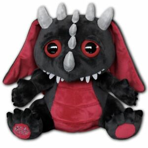 Spiral-Direct-Baby-Dragon-Wings-Black-Gothic-Fantasy-Gift-Plush-Cuddly-Toy