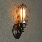 Moderno Vintage lámpara de Pared Retro Industrial Rústico Aplique Ajuste