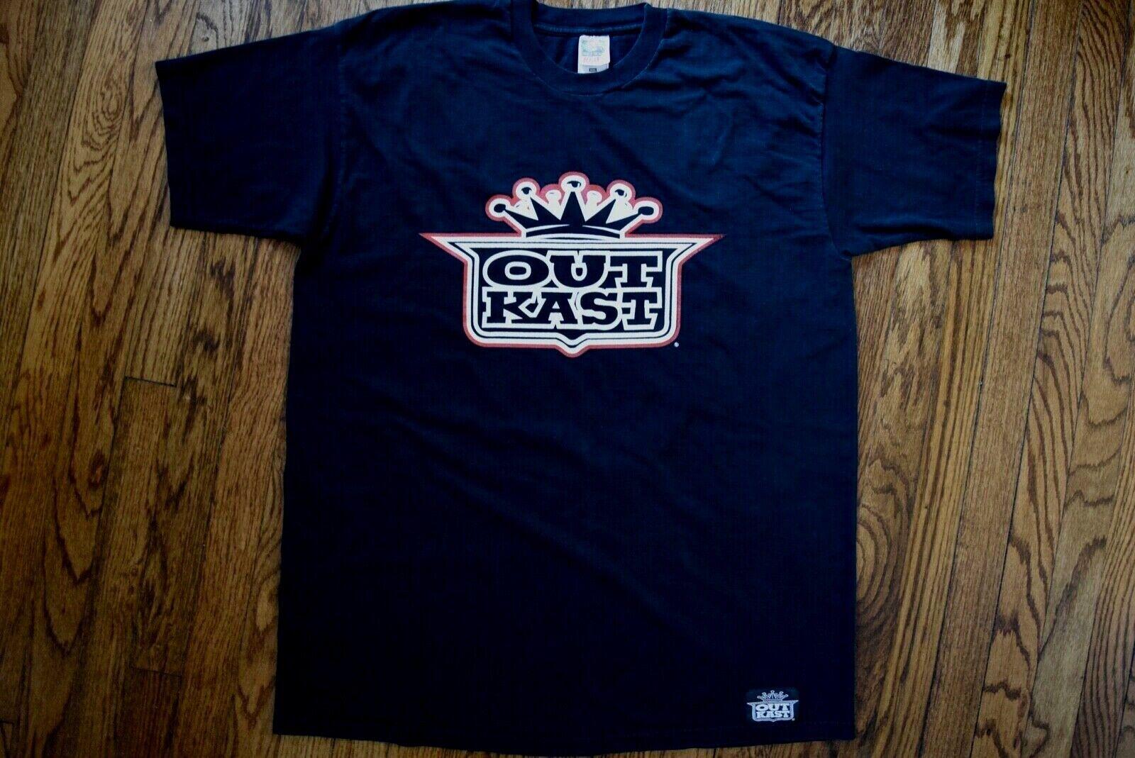 1998 Outkast Aquemini era LaFace records rap T-hemd vintage 90s Hip Hop XXL