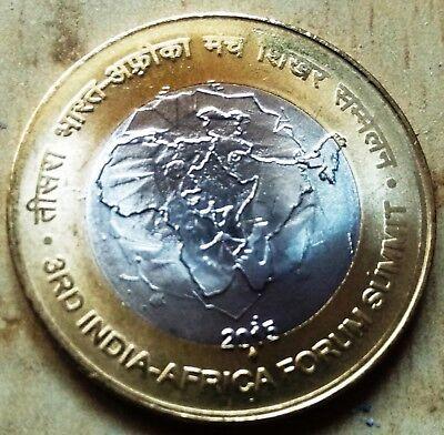 India 10 Rupees 2015-B 125TH BIRTH ANNIVERSARY S RADHAKRISHNAN UNC COIN.