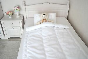 babyset decke mit kissen sommerset baby kinder set wellensteppung 100x135 40x60 ebay. Black Bedroom Furniture Sets. Home Design Ideas