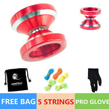 Professional Magic YOYO Ball N8 Dare to do Aluminum Alloy Kids Toys Gift Red K,