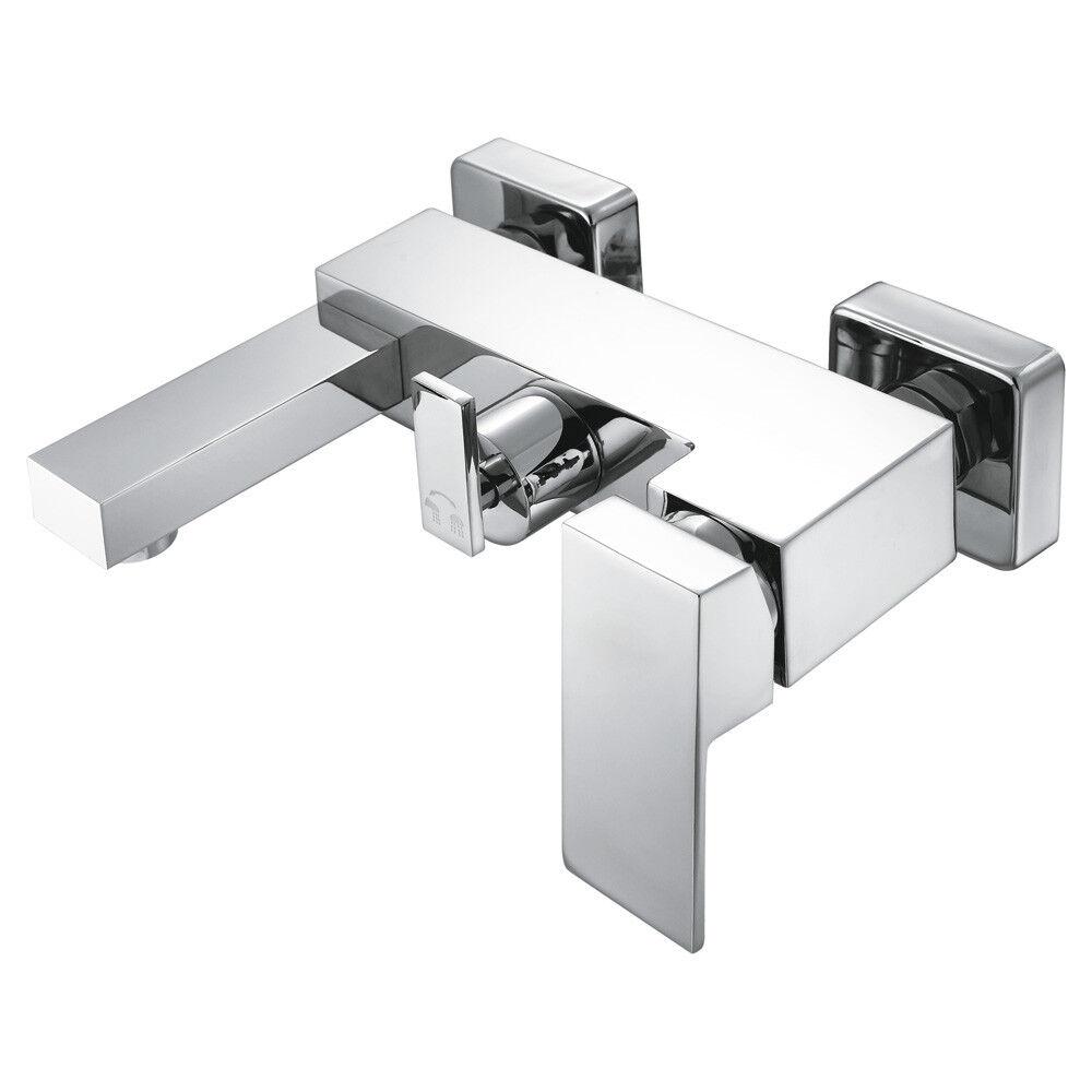 Modern Einhebel Badezimmer Bad Armatur Badewanne Chrom Sanlingo MANCHESTER