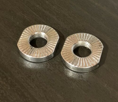 bicycle bike wheel axle nut cone locking nut various sizes available 8mm thread