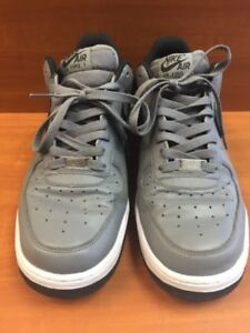 8b862e4a17b NIKE Air Force 1 One Low Lunar Grey Black White Style  488298-086 ...