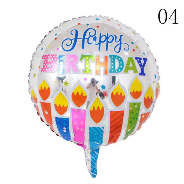 5Pc/Set Happy Birthday Aluminum Foil Balloons Birthday Wedding Party Decoration