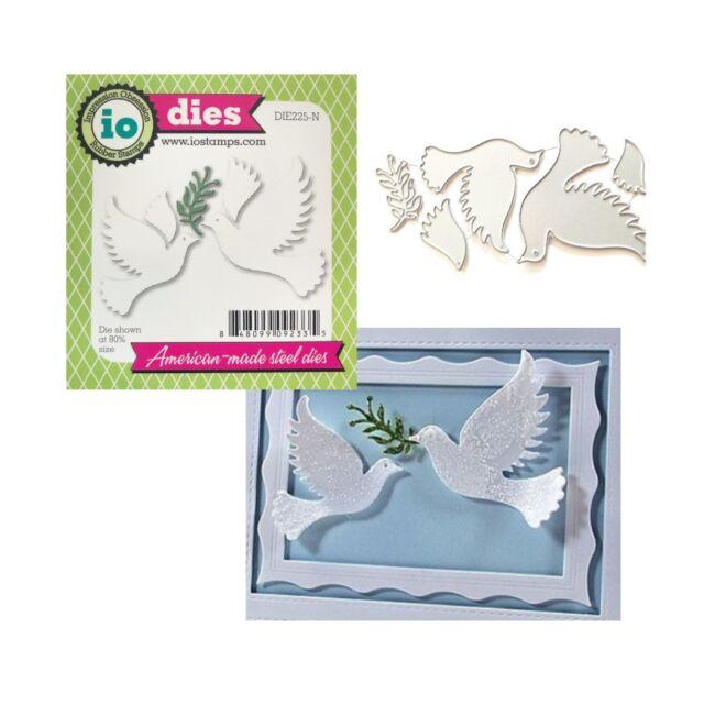 Peace Doves Steel Die for Scrapbooking DIE225N
