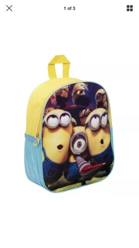 DESPICABLE ME MINIONS BAG RUCKSACK SCHOOL GIFT TRAVEL KIDS BOYS//GIRLS NEW