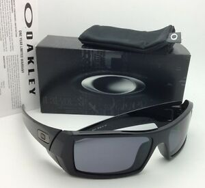 aa267ca1a24 New OAKLEY Sunglasses GASCAN 03-471 60-15 Polished Black Frames with ...