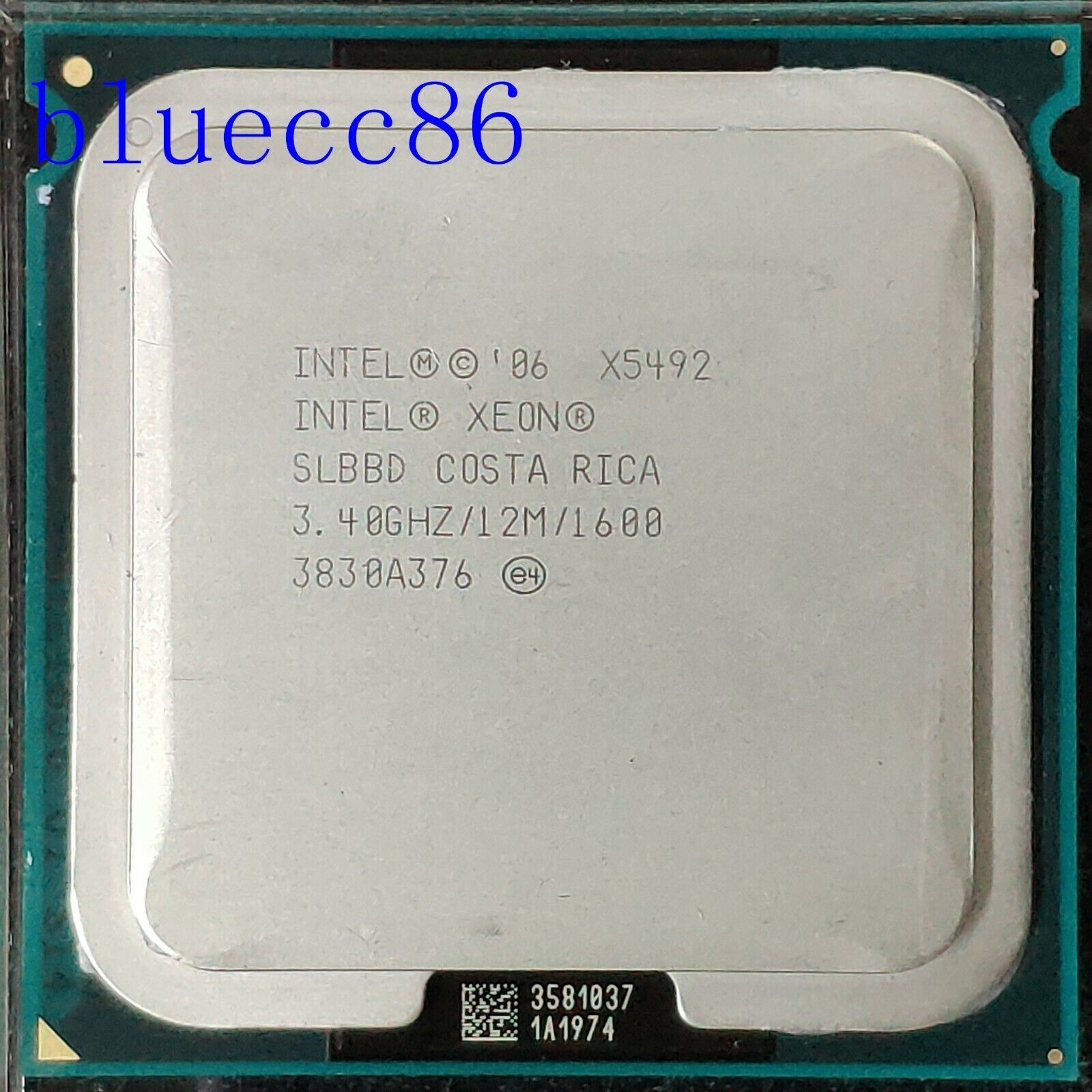 Buy Intel Xeon X5492 3 4 Ghz Quad Core At80574kl096n Processor Online Ebay