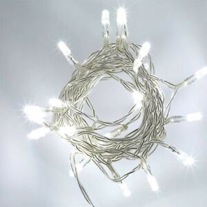 40-LED-Cool-White-String-Fairy-Lights-Battery-Operated-Xmas-Party-Decorations