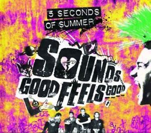 5-Seconds-of-Summer-Sounds-Good-Feels-Good-Deluxe-New-amp-Sealed-CD-NEW-UK
