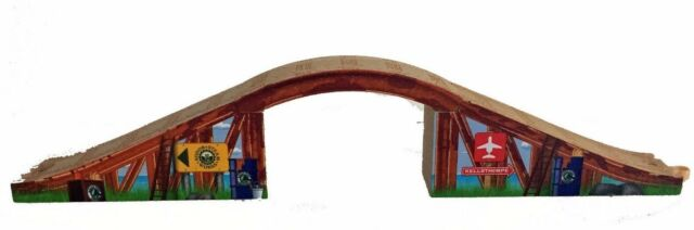 Arched Stone Bridge Thomas Tank Engine Wooden Railway New Tunnel Overpass