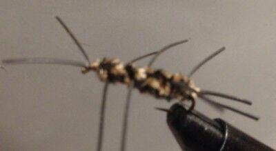 Freshwater Fly Size 12 Madame X Hot Item**** Sold per 6 Green// Hi-VisTop