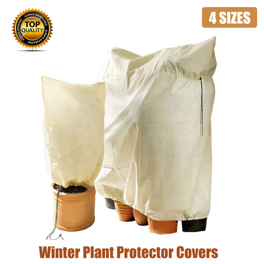 Plant Warming Fleece Protection Jacket Covers Tree Frost Protector Garden Shrub