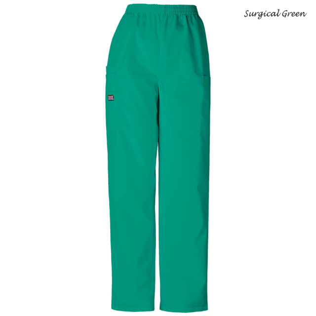 6887334875a Cherokee Women S Workwear Scrubs Pull on Cargo Pant Surgical Green X ...