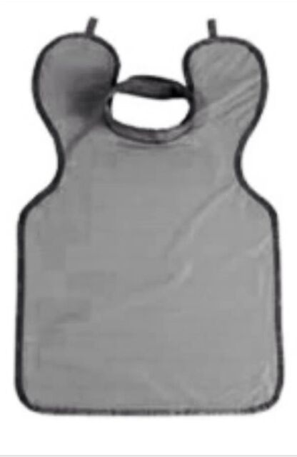 X-Ray Dental Apron Grey Adult with Collar