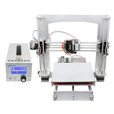 Geeetech Aluminum 3D Printer Prusa i3 A Pro + 3-IN-1 Box, PSU + Mainboard + LCD