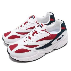 Details about Fila Venom 94 White Red Navy Men Women Running Lifestyle  Daddy Shoes Sneakers