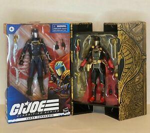 gi joe classified snake supreme cobra commander & cobra commander #06
