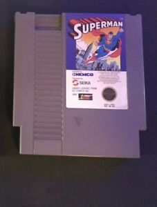 Superman-NES-game-Authentic-Original-Nintendo-Cleaned-Tested-Working