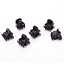 12PCS-Set-Women-039-s-Girl-Black-Plastic-Mini-Hairpin-6-Claws-Hair-Clip-Clamp-JT thumbnail 5