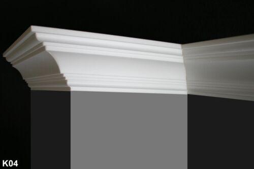 Muster von K04 Styroporleisten Zierleisten Stuckleisten Stuck K04