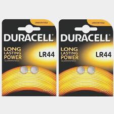 Genuine 4 Duracell LR44 AG13 PX76A Alkaline BATTERIES (BATTERY) 2020 UK SELLER