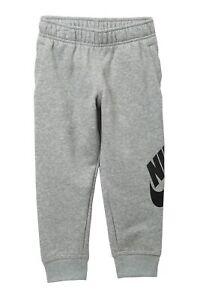 NWT-Boys-Youth-Nike-Futura-Jogger-Pants-86D948-042-Gray-Size-4-30