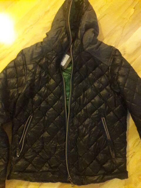 Duvetica men down jacket sixe XXL[suit 46] color Black new with ags
