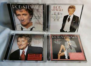 4 x CD Bundle Rod Stewart - The Great American Songbook Volume 1-4.