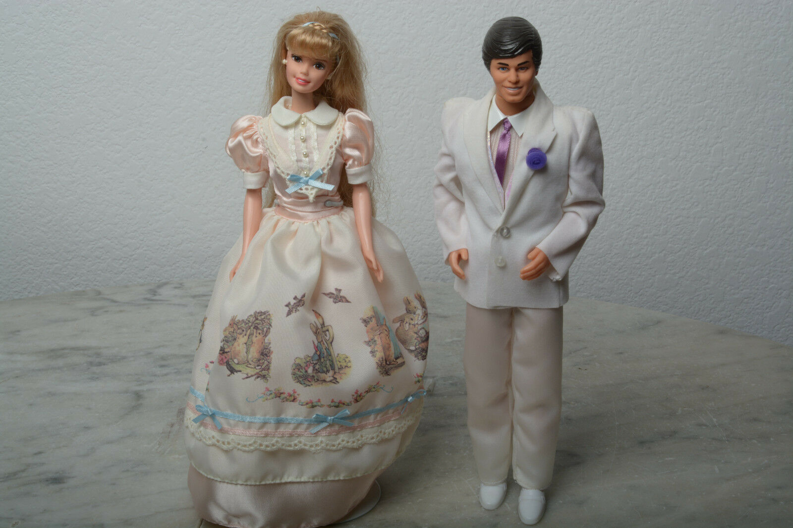 Mattel Ken And Peter Rabbit Barbie. Blemish on Ken's pants