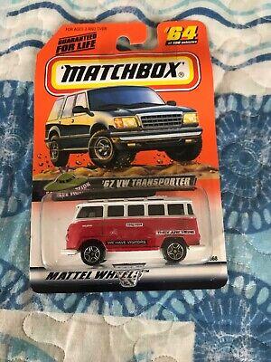Matchbox #64 Science Fiction /'67 VW Transporter Red//White 1999