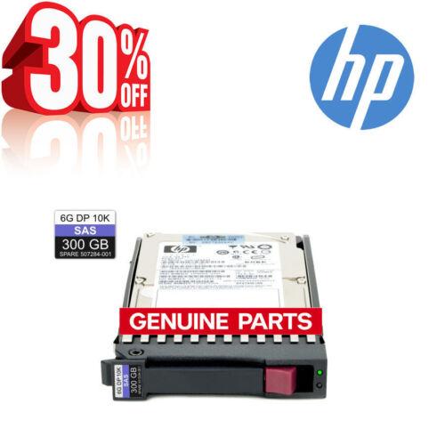 """HP 507284-001 EG0300FAWHV 507119-004 507129-003 300GB DP 10K SAS 2.5/"""" SAS Drive"""