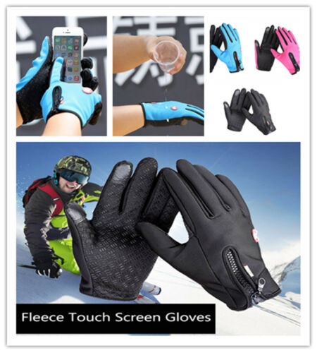 New Winter Warm Outdoor Gloves Windproof Screen Touch Sports Bike Motorcycle Ski