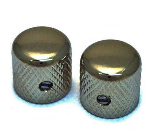 Black Nickel Vintage Style Dome Knobs for 6mm Split Shaft MK-VDS-BN 2