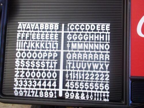 4ft Coca-Cola Menu Board Sign w//4 sets of letters,numbers /& symbols!