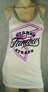 Famous Straps Damen Shirt/Top/T-Shirt Farbe White Größe L