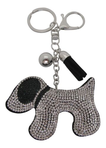 Black Coated Crystal Scotty Chien Sac Charme Chien Porte-clés terrier keyring Westie