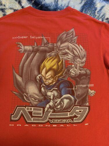 Vintage Dragonball Z Shirt Vegeta Akira Ghost In T