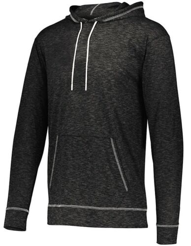 HEATHERED XS-4XL PULLOVER HOODIE MEN/'S UNLINED DRAWCORD POCKET LIGHTWEIGHT