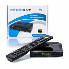 Freesat V7 HD 1080P FTA Set DVB-S2 Digital Mini TV Box Receiver Support Wifi NEW