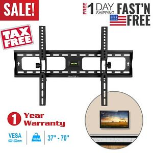 LCD-LED-PLASMA-FLAT-TILT-TV-WALL-MOUNT-BRACKET-32-37-42-46-50-55-57-60-65-70-039-039