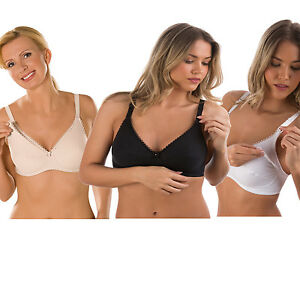6971eb721718c Image is loading Naturana-100-Cotton-Nursing-Maternity-Breast-Feeding-Bra-