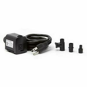 Beckett Corporation 160 GPH Submersible Pond Pump - Water Pump for Indoor/Outdoo