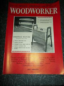 WOODWORKER-December-1958-Retro-Vintage-Illustrated-Magazine-Advertising