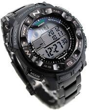 Casio Protrek Solar Power Compass Blackout Men's Watch PRG-250BD-1  PRG250BD 1