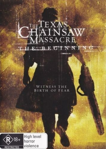 1 of 1 - TEXAS CHAINSAW MASSACRE: THE BEGINNING DVD NEW