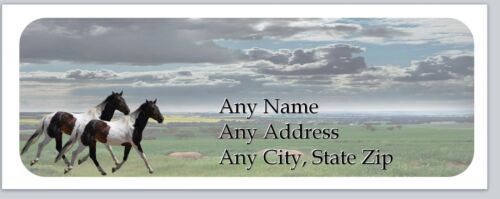 Personalized Address Labels Western Horses Buy 3 get 1 free ac 919