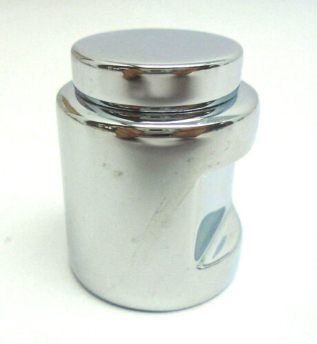 "Baldwin 4634.260 Cylindrical Cabinet Knob 1.25/""  Polished Chrome 849HW"